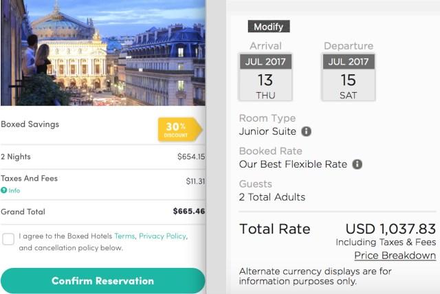 Boxed Hotels Savings at the Edouard 7 Paris Opéra Hotel