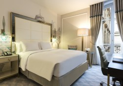 Hilton Paris Opera Deluxe Room save money on hotel by booking separately