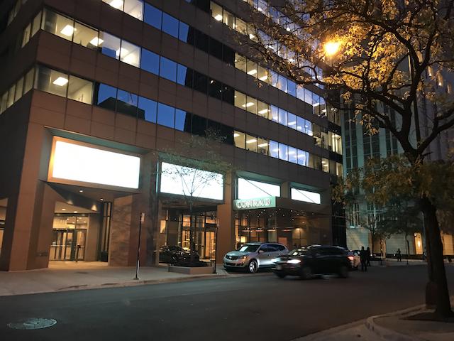 Conrad Chicago Review Hotel Exterior