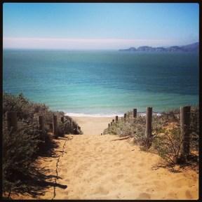 Baker Beach: Sand Stairs