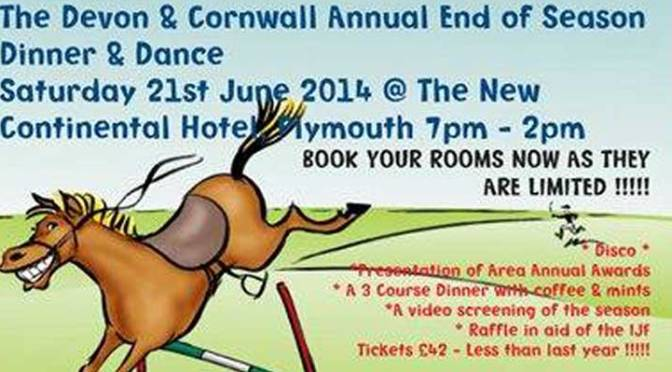 Devon & Cornwall End of Season Point-To-Point Dinner & Dance
