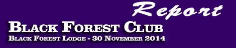 REPORT: BLACK FOREST CLUB POINT-TO-POINT –30 NOV 2014