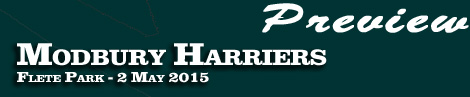 PREVIEW: MODBURY HARRIERS POINT-TO-POINT AT FLETE PARK ON SATURDAY 2nd MAY 2015