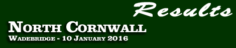 RESULTS: NORTH CORNWALL POINT-TO-POINT AT WADEBRIDGE 10 JAN 2016
