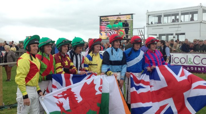 Champions lead British team for the Anglo-Irish International Point-to-Point Riders' Challenge