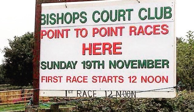 Update: Bishops Court Racing Club Point-To-Point, Sunday 19th November 2017
