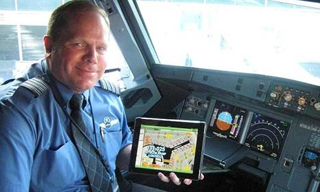 JetBlue iPad