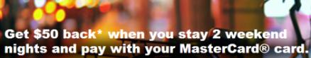 IHG MasterCard Promo