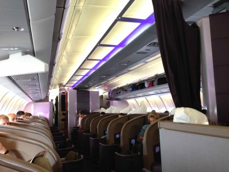 Virgin Atlantic Upper Class Flight04