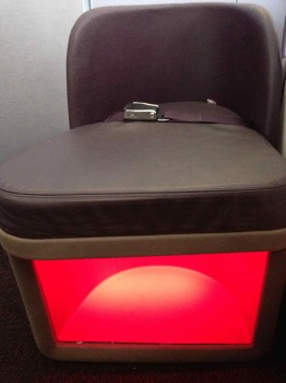 Virgin Atlantic Upper Class Flight14