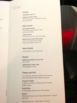Virgin Atlantic Upper Class Flight19