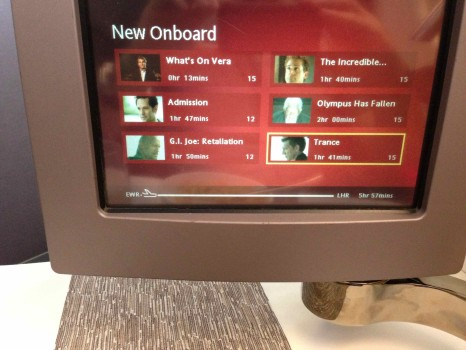 Virgin Atlantic Upper Class Flight28
