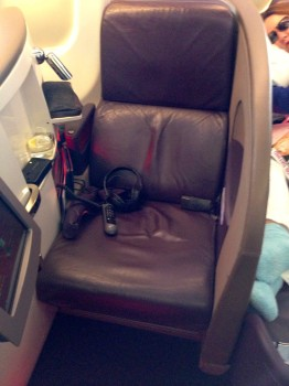 Virgin Atlantic Upper Class Flight30