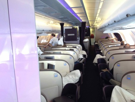 Virgin Atlantic Upper Class Flight38