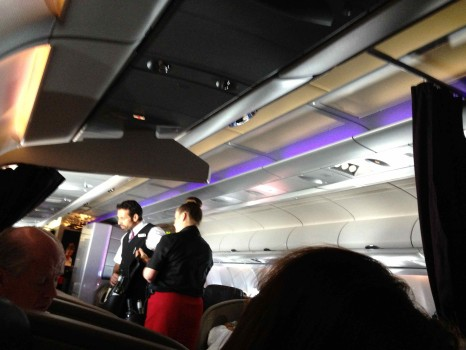 Virgin Atlantic Upper Class Flight49