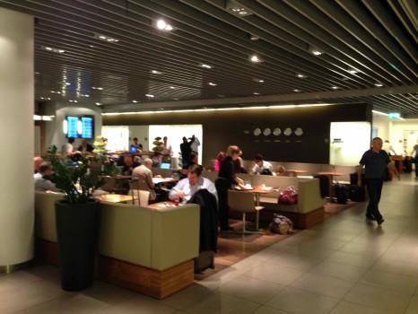 Lufthansa Munich Senator Lounge17