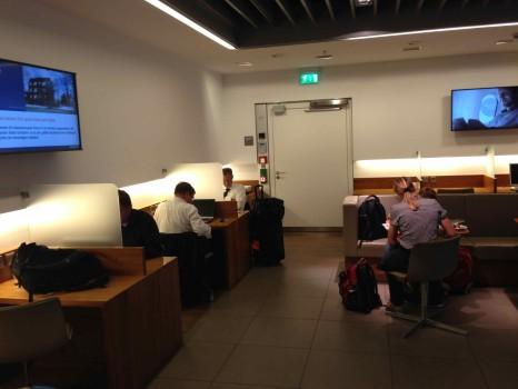 Lufthansa Munich Senator Lounge23