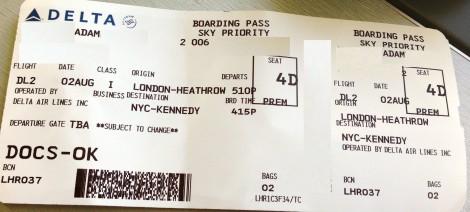 Blog LHR-JFK 767-400ER21