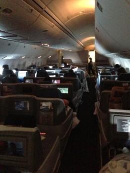 Blog LHR-JFK 767-400ER40