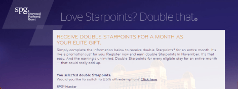 SPG Double Points