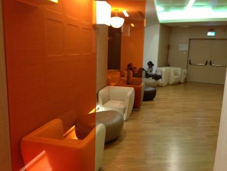 Alitalia Lounge Rome Giotto Lounge21