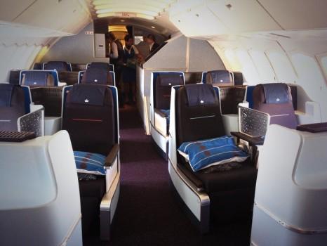 KLM New Wolrd Business Class