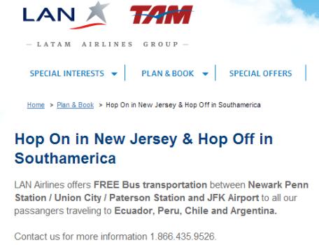 LAN Free Bus Service