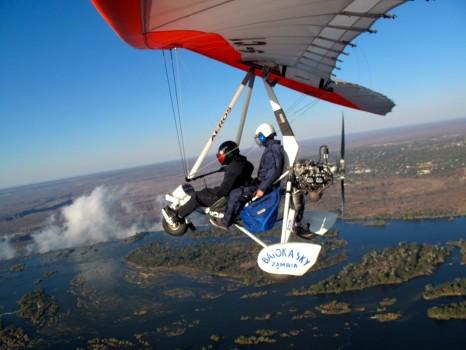 Microflight Microlight Batoka Sky Zambia Victoria Falls42