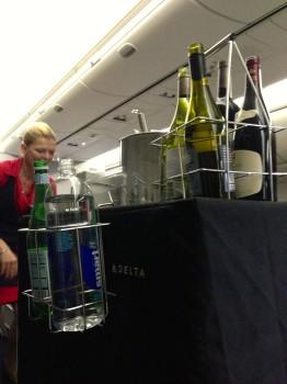 Delta JFK Rome FCO Trip Report B767-30013