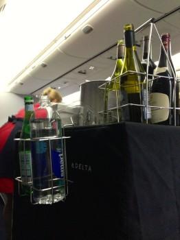 Delta JFK Rome FCO Trip Report B767-30014