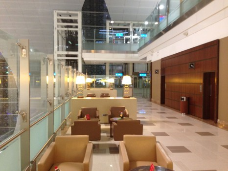Emirates A380 Lounge  First Class Lounge at Concourse A in Dubai19