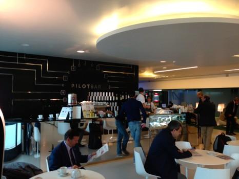 Alitalia T1 Lounge FCO Rome06