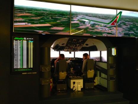 Alitalia T1 Lounge FCO Rome17