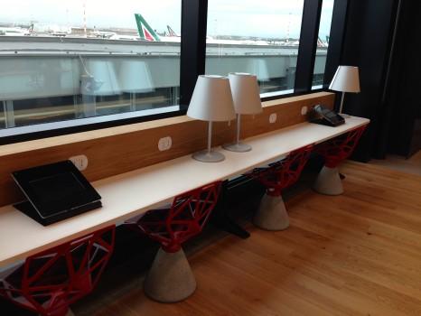 Alitalia T1 Lounge FCO Rome26