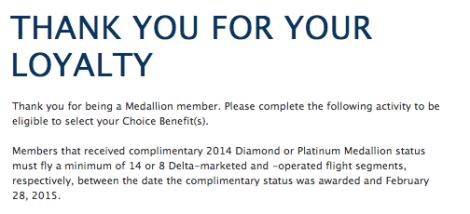 Delta Choice Benefit