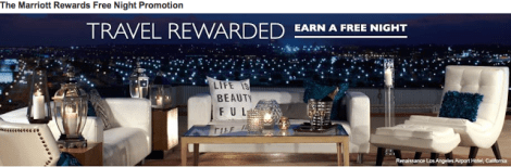 Marriott Rewards New Member Sign Up Bonus