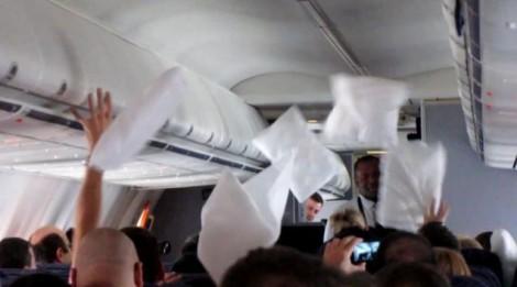 Pillow Fight In-Flight