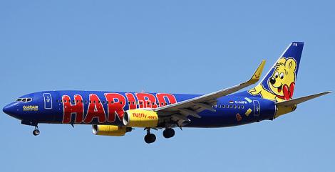 TuiFly Haribo Blue Plane 1