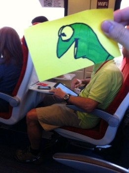 Boredom Kermit