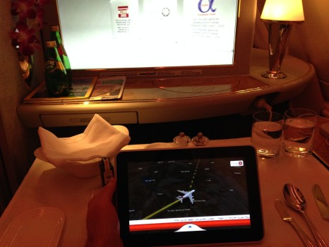 Emirates A380 First Class Shower07