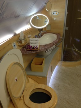 Emirates A380 First Class Shower3