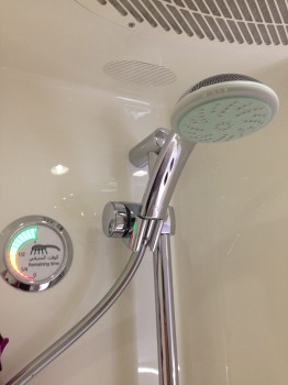 Emirates A380 First Class Shower36