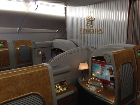 Emirates First Class A38007