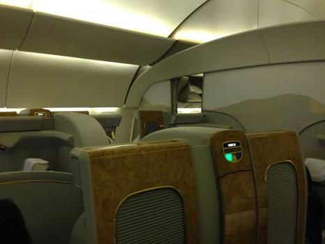 Emirates First Class DXB - Malé (MLE) B777-200LR06