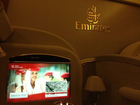 Emirates First Class DXB - Malé (MLE) B777-200LR12