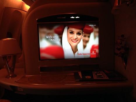Emirates First Class DXB - Malé (MLE) B777-200LR23