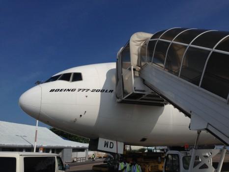 Emirates First Class DXB - Malé (MLE) B777-200LR50