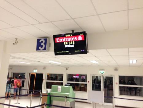 Emirates First Class Malé (MLE) - DXB B777-200LR03