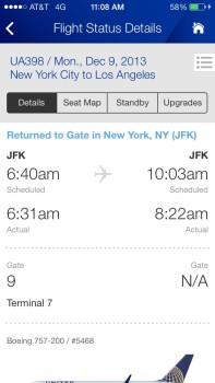 United JFK-SFO Economy Plus12