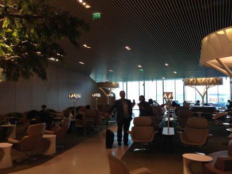 AIr France M Lounge Paris CDG04